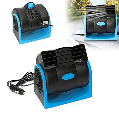 Ventilador de coche de 12 V,Mini ventiladores de Refrigeración, Aire Acondicionado Coche,para vehículos, camiones, vehículos recreativos, SUV