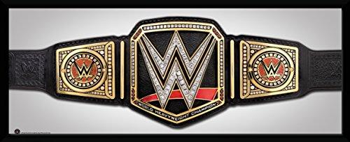GB Eye Ltd WWE, Titel Kunstdruck, gerahmt, 30x 75cm, Holz, verschiedene, 79x 44x 3cm