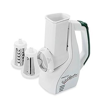 Presto 02910 UL Listed Dishwasher Safe Salad Shooter Electric Slicer/Shredder