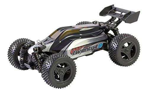 XciteRC 30608000–Buggy twenty4B V2.0–4WD RTR, Macchina radiocomandata, Argento/Rosso
