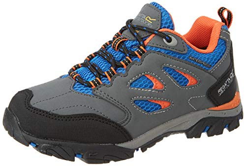 Regatta Holcombe Low Jnr, Walking Shoe Unisex-Child, (Briar/Blzeor 44z), 2 EU
