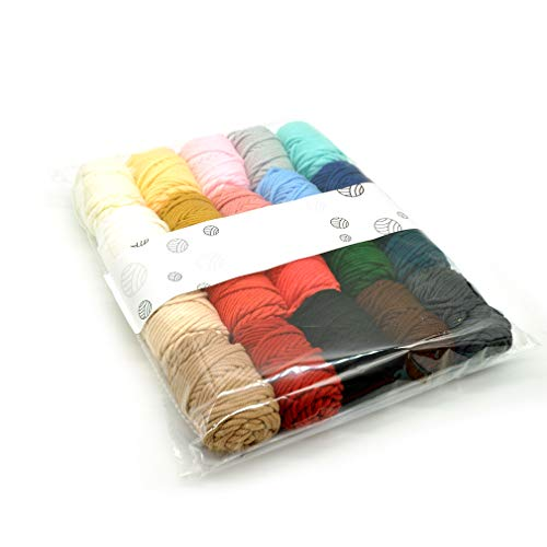 Great Deal! GloryMM Machine Embroidery Thread Set for Embroidery and Sewing 20 Types of Different Th...
