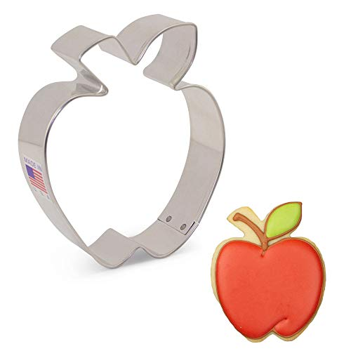 Ann Clark Cookie Cutters Apple Cookie Cutter, 3.5'