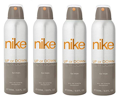 Nike Up or Down Deodorant For Man- Pack Of 4 (200ml Each)