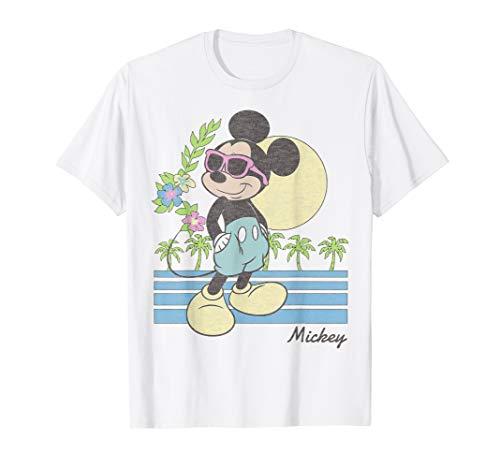 Disney Mickey And Friends Mickey Retro Beach T-Shirt