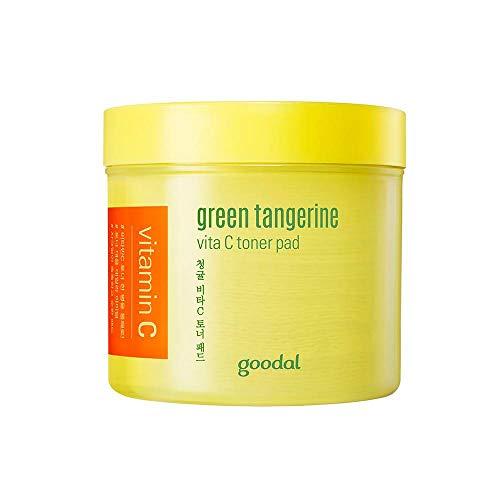 goodal(グーダル) green tangerine vita C toner pad 化粧水 70枚 (x 1)