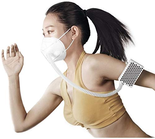 BROAD AirPro Mask Rechargeable Electrical Air Purifying Respirator with HEPA Filter