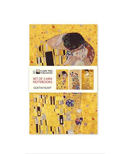 Dreier Set Mini-Notizbücher: Gustav Klimt: Unser beliebten Mini-Notizbücher im 3er-Pack mit flexiblen, künstlerisch gestalteten Einbänden mit jeweils ... des Künstlers (Mini-Notizbücher (3er-Pack))