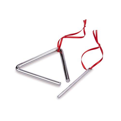 New Classic Toys - 10130 - Musikinstrument - Triangel - Klein