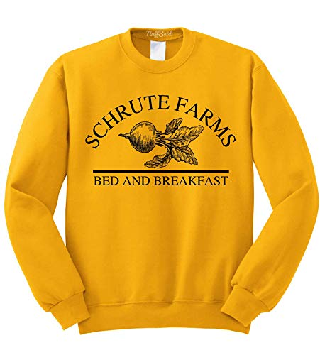 Nuff Said Schrute Farms Beets Bed and Breakfast Sweatshirt Sweater Pullover – Unisex