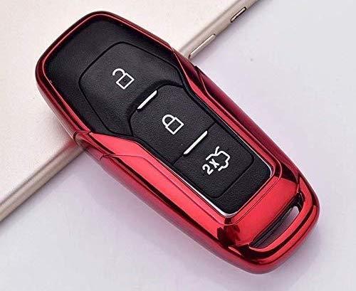 Carcasa de silicona TPU brillante compatible con Ford Fiesta Focus Galaxy Fusion Mondeo B-Max C-Max