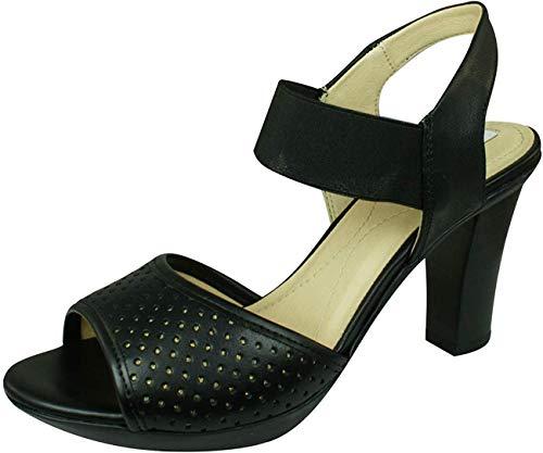 Geox Sandalen/Sandaletten, Color Schwarz, Marca, Modelo Sandalen/Sandaletten D JADALIS Schwarz