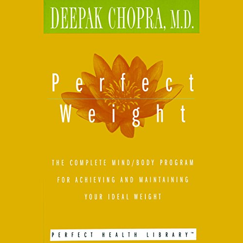 Perfect Weight audiobook cover art