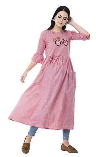 AnjuShree Choice Women's Cotton Regular Dress Shirt
