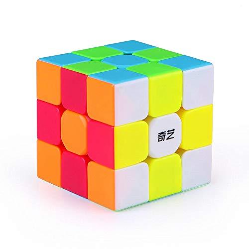 LiangCuber QiYi Warrior S 3x3 Stickerless Speed Cube Warrior W Upgraded version 3x3 Puzzle Cubes
