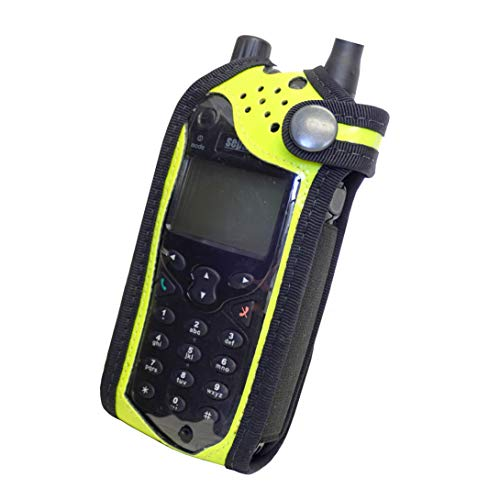 Sepura SRP2000 SRP3000 - Carcasa para radio Tetra (alta visibilidad), color amarillo