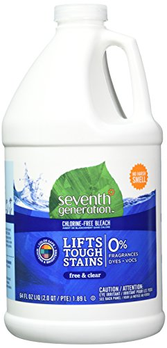 Seventh Generation Chlorine-Free Bleach - Free & Clear - 64...