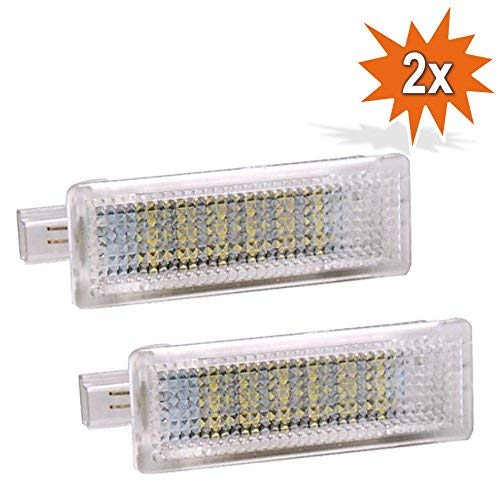 2x Do!LED DR18 LED SMD Innenbeleuchtung Innenraum Fußraum Kofferraum Einstiegs/Türbeleuchtung Xenon Optik