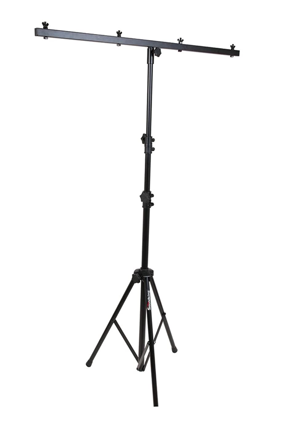 Light Stand, Portable, 50 lb Capacity, Adjustable, Up to Four Lamps