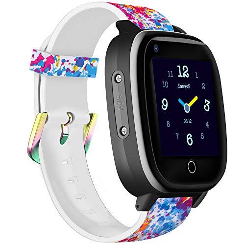 Infinite Watch - iKids - Montre connectée Enfant - 4G - GPS précis - Thermomètre intégré