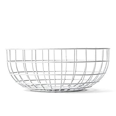 MENU 9100639 Wire Bowl, White