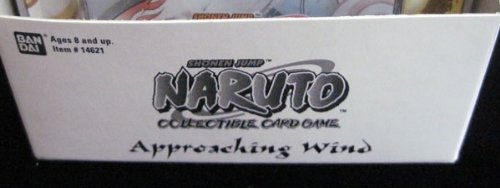 Naruto Approaching Wind TCG Blister Booster Pack Box - 15 Packs - 10 Cards/Pack