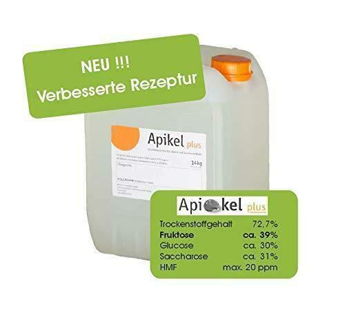 Apikel Plus Sirup Bienenfutter (14 kg/Kanister) auf Rübenzuckerbasis