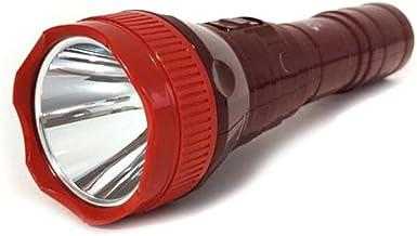 Lanterna Recarregável 1 Led 3W Foco Fixo Com Cabo AC