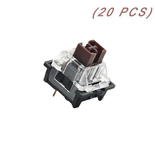 OUTEMU (Gaote) Schalter 3-poliger Schlüsselschalter DIY austauschbare Schalter für mechanische Gaming-Tastatur