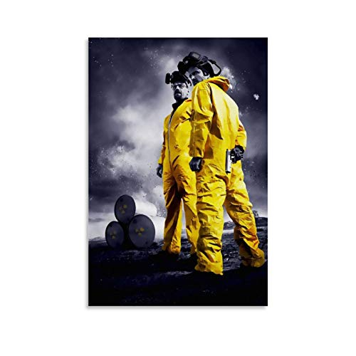 WSDSX 17 Breaking Bad Poster sur toile pour décoration d'intérieur 50 x 75 cm