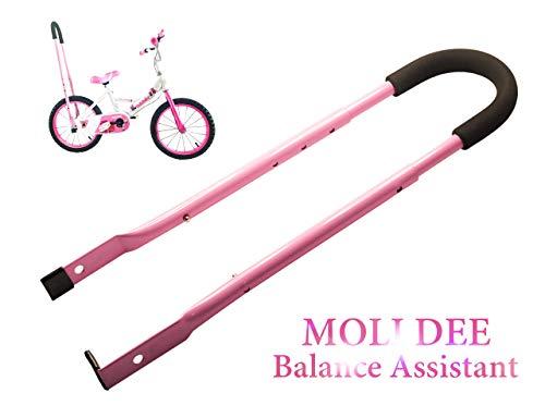 moli dee Children Cycling Bike Safety Trainer Handle Balance Push Bar (A-Pink)