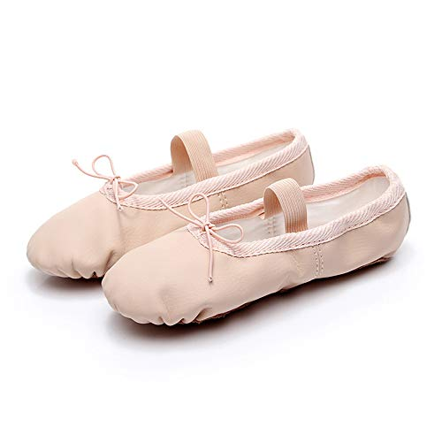 DDDD store Zapatillas de Ballet Dance Zapatos de Baile para Niñas Mujeres de Danza Cuero Zapatos y Gimnasia Baile Dance Zapatos Ballet Zapatos de Baile para Niñas