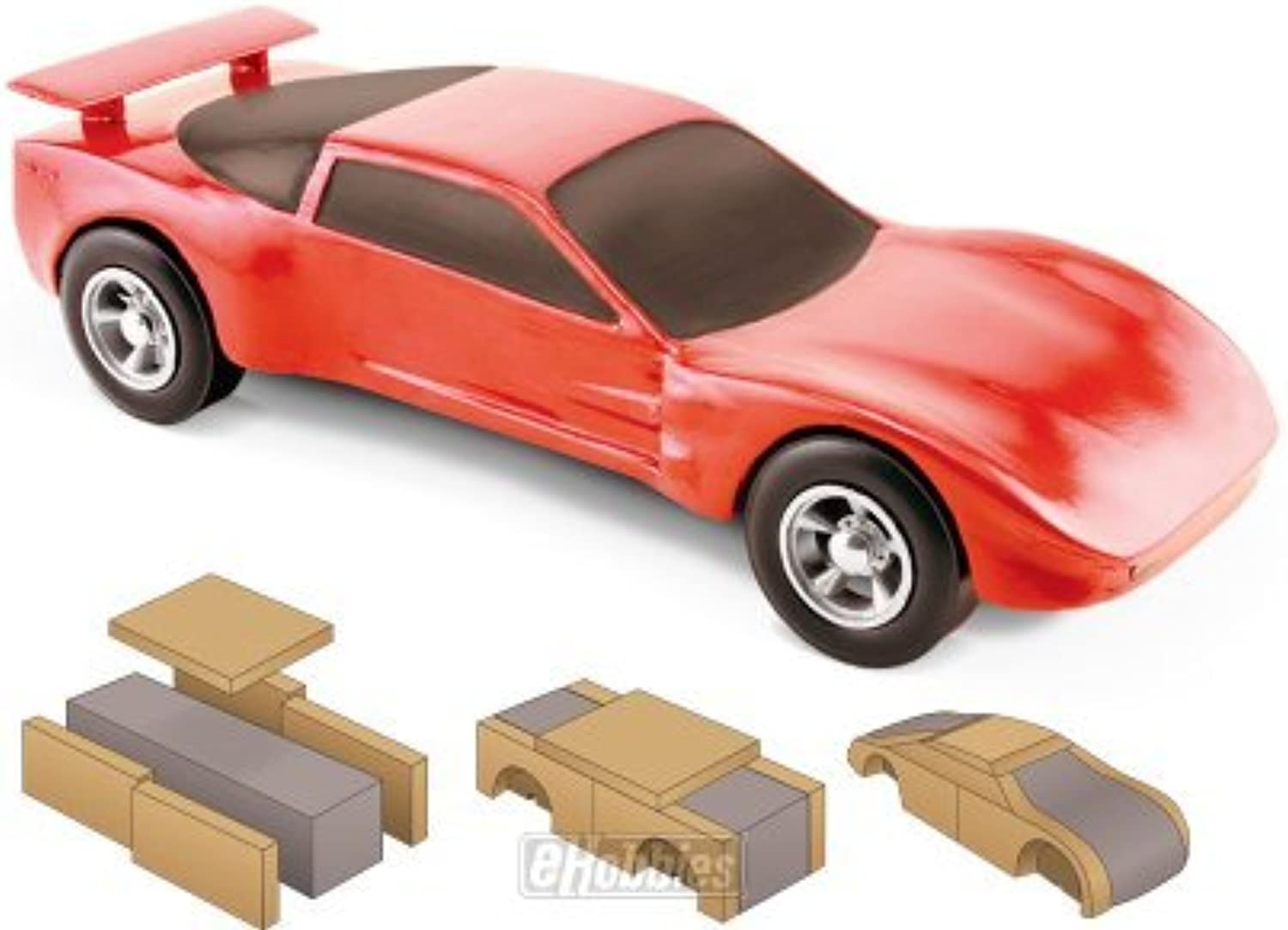 Pine Car Body Builder Kit Pinewood Derby by Pinecar