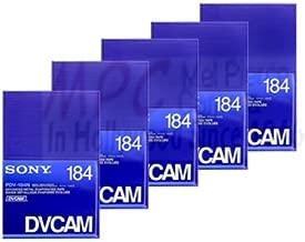 dvcam 184 tapes