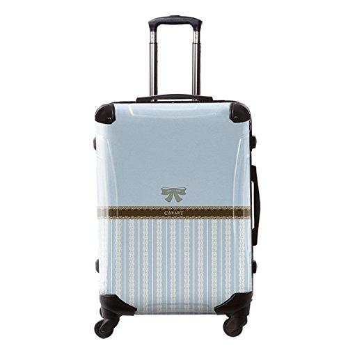 [キャラート] アート スーツケース プロフィトロール バニラ フレーム4輪 63L L 保証付 68 cm 4.1kg 浅青藤色