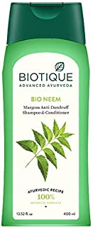 Biotique Bio Neem Anti Dandruff Shampoo & Conditioner, 400 ml
