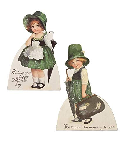 Bethany Lowe Luck O' The Irish Dummy Board (Set of 2) RL8231