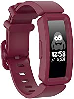TERSELY Sport Band Strap for Fitbit ACE 2, Soft TPU Silicone Metal Buckle Bands Fitness Sports Bracelet Strap for Fitbit...