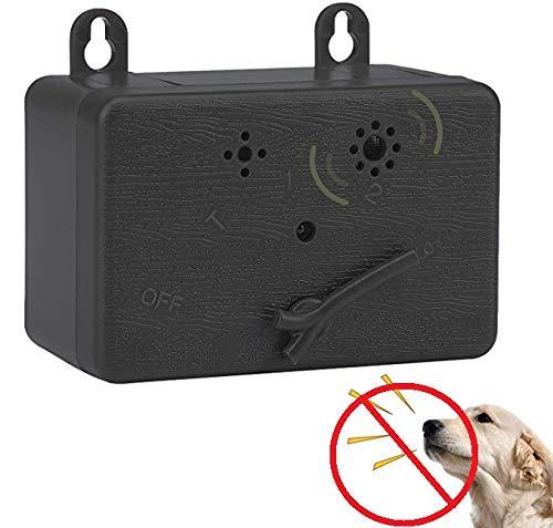 YDHP Anti-Barking-Gerät Ultraschall-Hundebellen Abschreckende Stop-Barking-Sicher Bellenstopper für Innen/Außenbereich