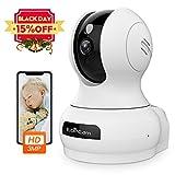 3MP Super HD Caméra Surveillance WiFi Caméra IP Intérieur de Sans fil, Caméra de Sécurité avec...