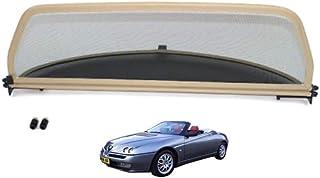Generico Set DEFLETTORI Antivento Auto Compatibile con Alfa Romeo 156 CROSSWAGON Rails 5P 2004 PARAVENTO Anti Vento Acqua Turbo Fume G3