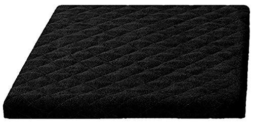 Trockner und Waschmaschinenschonbezug in versch. Farben, Größe: 60x 60 x 5 cm, Schwarz