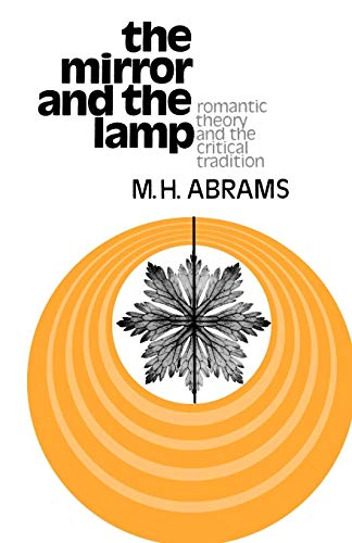 Price comparison product image The Mirror and the Lamp: Romantic Theory and the Critical Tradition (Galaxy Books)