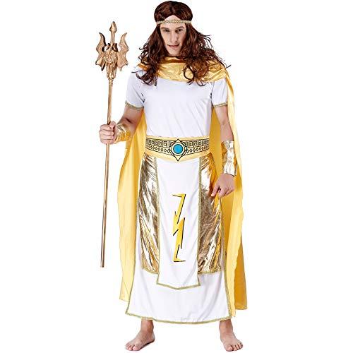 Halloween Prins Kostuum, Drama Stage Koning Kostuum, Oude Egyptische Farao Kleding Film Cosplay