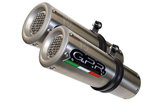 GPR EXHAUST SYSTEM KOMPATIBEL MIT HONDA VTR 1000 F Firestorm 1997/07 Auspuff OMOLOG.CON RACCORDO M3 INOX