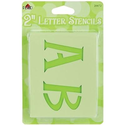 Plaid:Craft - Mailbox Letter Stencils - Genie Letter