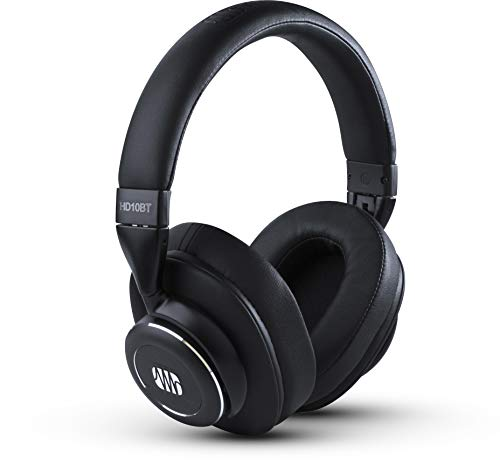 PreSonus Casque Presonus Eris HD10BT Professional à Annulation Active du Bruit et Technologie sans Fil Bluetooth, Noir, 3 x 6.2 x 7.5 Pouces