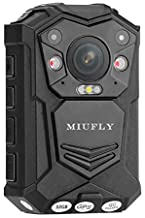 MIUFLY 1296P HD Waterproof Police Body Camera with 2 Inch Display, Night Vision, Built in..