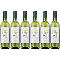 Paz VI Vino Blanco Verdejo - Botellas 6 x 750 ml - Total: 4500 ml