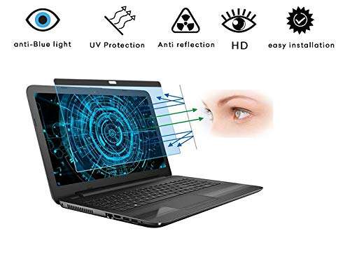 Magnetic Blue Light Blocking Screen Protector and Anti Blue Light Filter, Compatible withMacBook Pro 15 Inch (2018, 2019,2020) | Eye Protection for A1707 A1990 Models ONLY